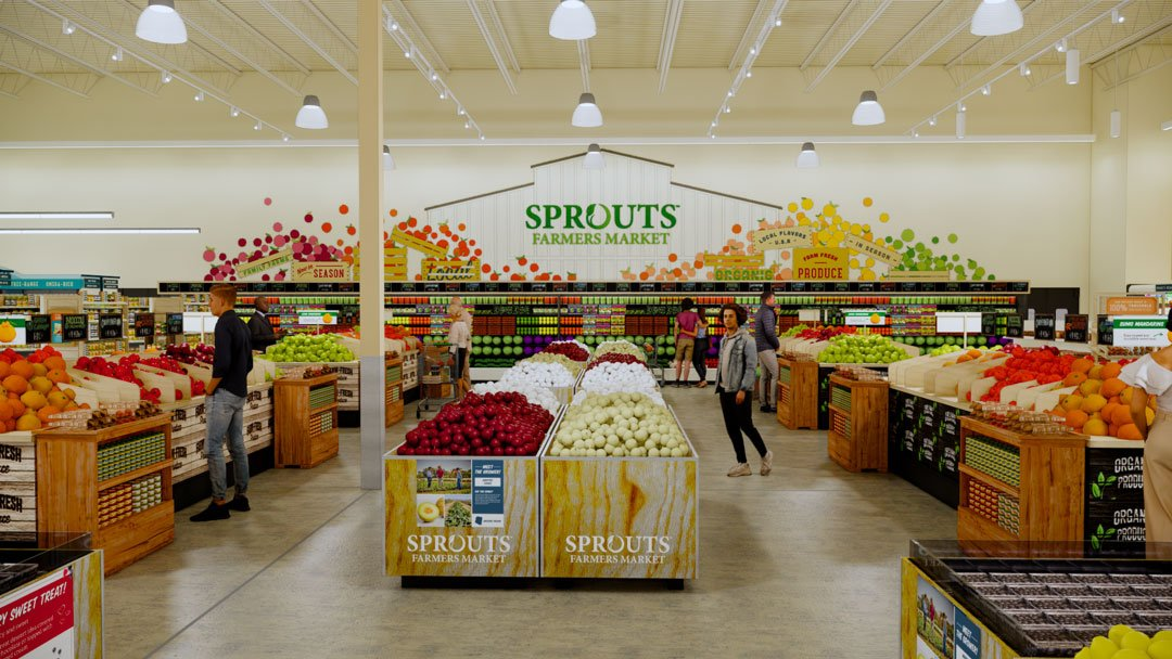 Sprouts Farmers Market - Produce Rendering