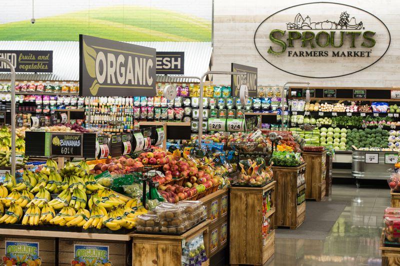 Sprouts Store interior